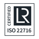 iso 22716 label