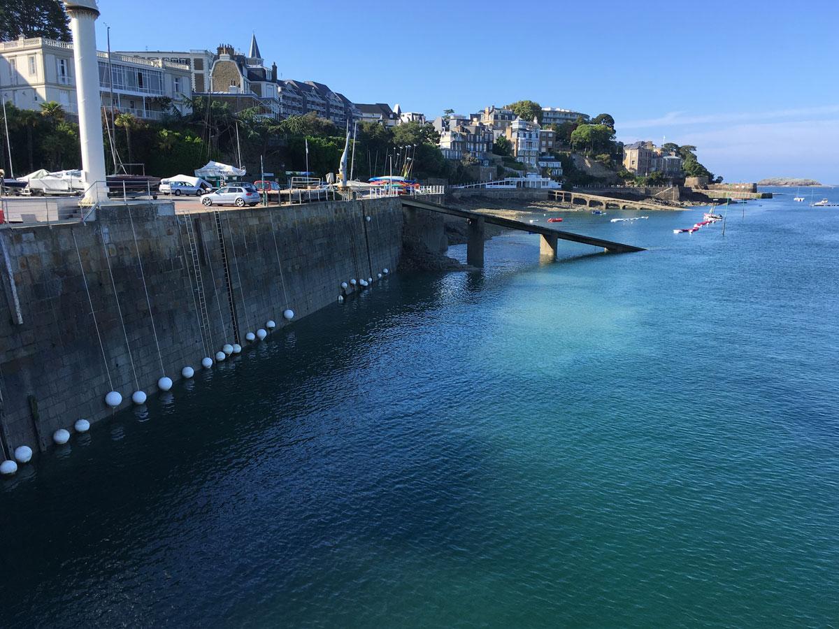 ponton ballae ecologique mer